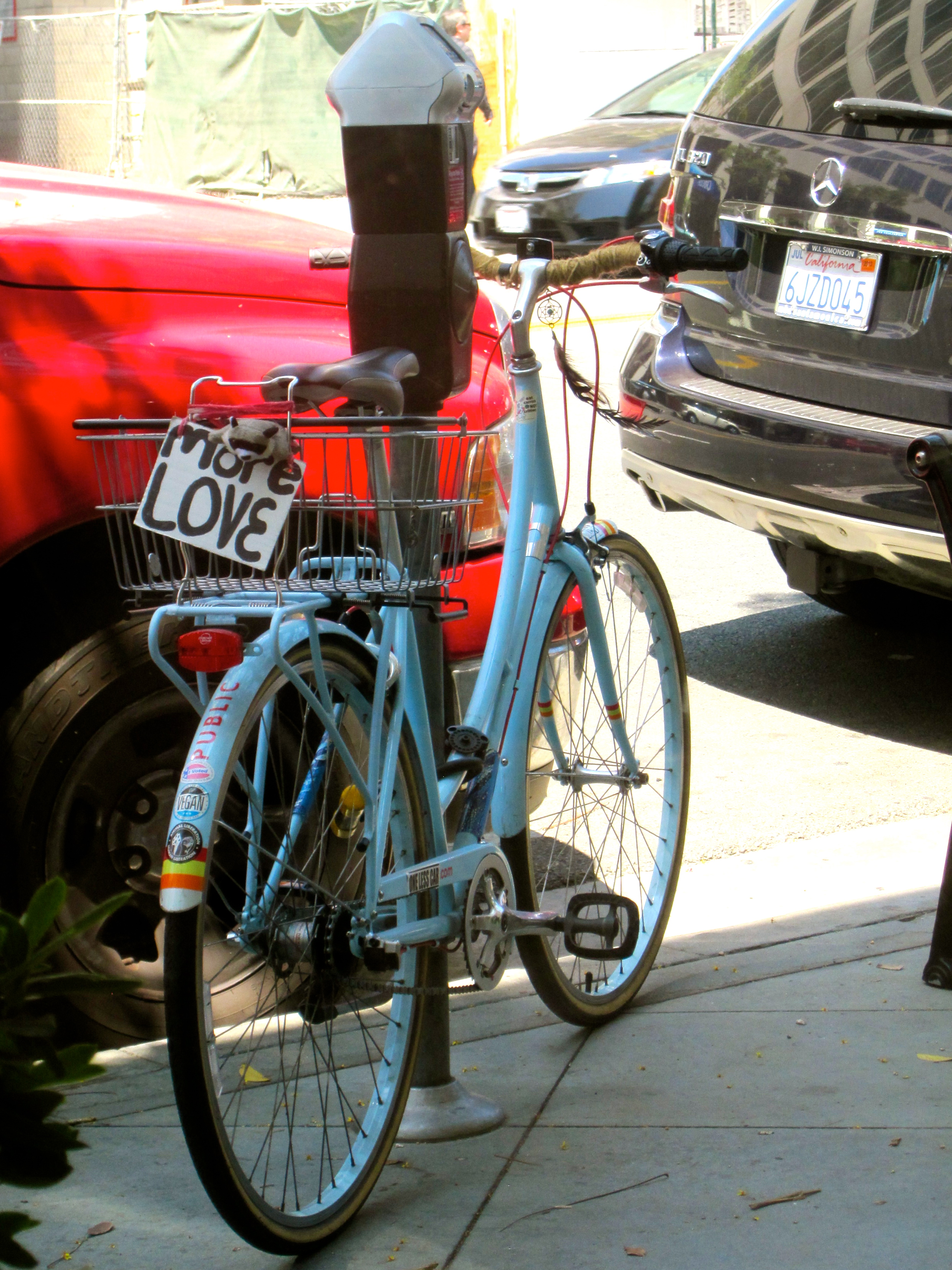 More love bicycle