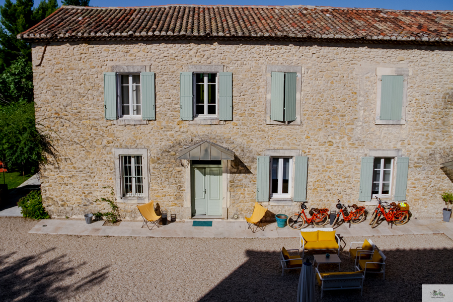 Provence luxury hotel, Falling Off Bicycles