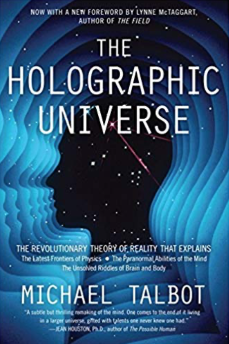 Holographic Universe, Michael Talbot, the Alchemist, Paulo Coelho, Four Agreement, Eckhart Tolle, Neale Donald Walsch, Conversations with God, Shakti Gawain, Living in the Light