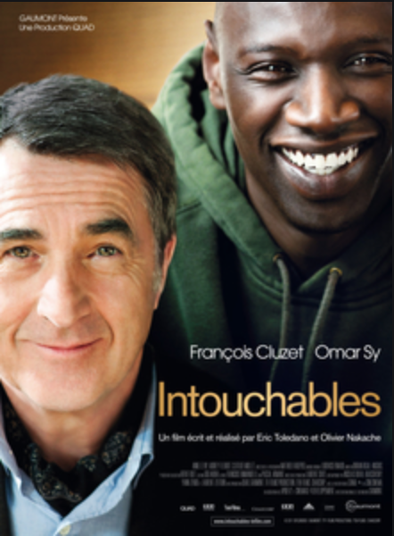 movies on France, French blog, France blog, Paris blog, Les intouchables
