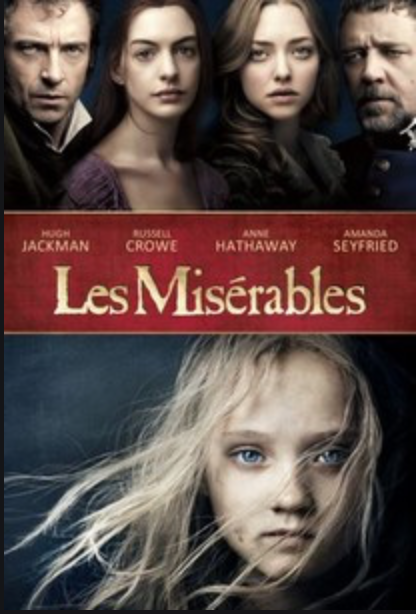 movies on France, French blog, France blog, Paris blog, Les Miserables