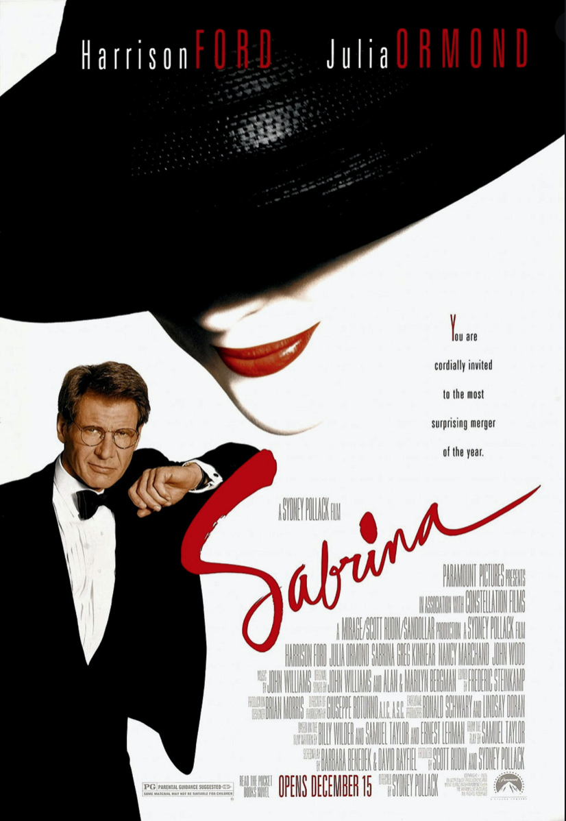 Sabrina film, movies about France, French blog, France blog, Paris blog,